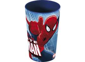 Vaso de plástico 270 ml. Spiderman