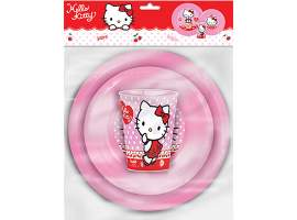 Set 3 piezas Hello Kitty