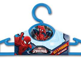 Set 3 perchas Spiderman