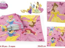 Set 20 servilletas princesas