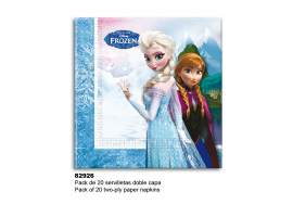 Set 20 servilletas Frozen