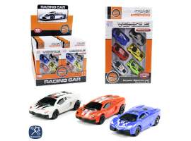 Set 6 coches racing
