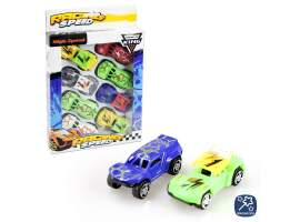 Set 8 coches speed