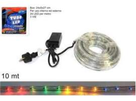 Tubo led 10mt. multicolor