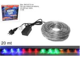 Tubo led 20mt. multicolor