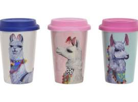 Mug porcelana alpaca 400 ml