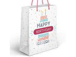 Bolsa papel JUMBO happy birthday
