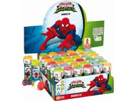 Tubo pompas 60ml Spiderman