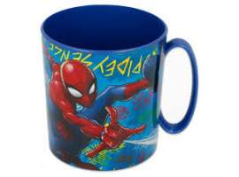 Taza micro Spiderman 350 ml