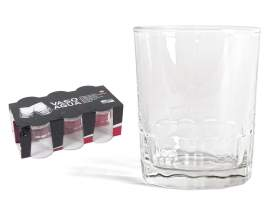 Pack 6 vasos agua 256 ml