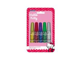 Set 5 glitter Hello Kitty