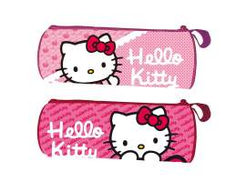 Estuche redondo Hello Kitty