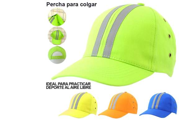 Gorra adulto reflectante