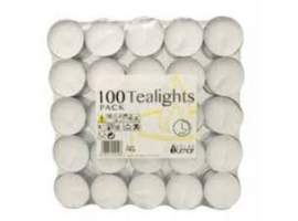 Pack 100 tealights 4.5 horas